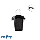 Raycop RP100 集塵盒濾網(3入裝)RP-100 集塵盒 水洗式 除蹣機 塵蹣機 群光公司貨