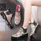 【快樂購】女士水鞋學生膠鞋女式防滑韓