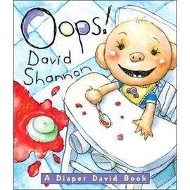 『繪本123‧吳敏蘭老師書單』-- OOP! A DIAPER DAVID BOOK  /幼兒硬頁書