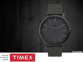 【時間道 】TIMEX 天美時 簡約中性腕錶/槍色殼灰皮帶(TW2U05900) 免運費