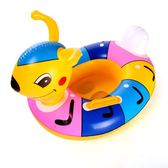 泳博加厚雙層游泳圈兒童寶寶腋下坐圈 可愛動物鴨子斑馬充氣座圈 祕密盒子