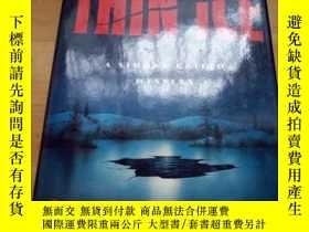 二手書博民逛書店THE罕見TROUBLE WITH THIN ICE(16開精裝