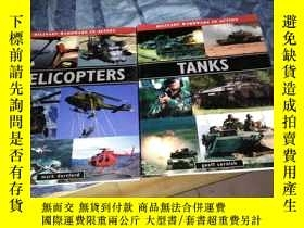 二手書博民逛書店HELICOPTERS罕見MARK DARTFORD直升機馬克達特福德+TANKS GEOFF CORNISH坦克