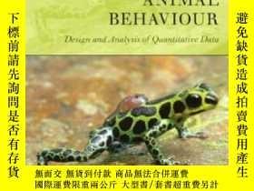 二手書博民逛書店Observing罕見Animal Behaviour: Des
