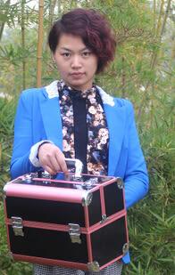 化妝包化妝箱化妝品收納盒收納箱專業化妝工具大號手提箱首飾盒