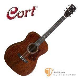【Cort品牌/L-450C/木吉他】Cort L450C 桃花心木 單板民謠吉他  Cort吉他