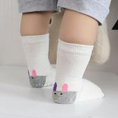 小兔子後跟印花止滑短襪 止滑襪 寶寶防滑襪 短襪