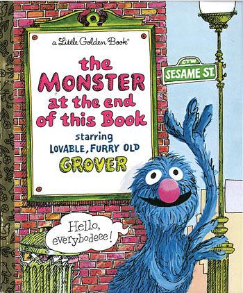 【麥克書店】『小熊媽的經典英語繪本』THE MONSTER AT THE END OF THIS BOOK /英文繪本