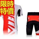 男單車服 短袖套裝-排汗透氣吸濕暢銷質感自行車衣車褲56y66【時尚巴黎】