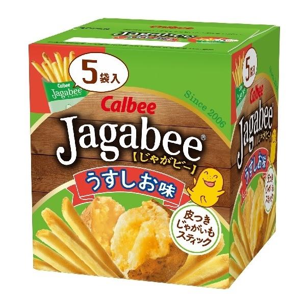 Calbee Jagabee加卡比薯條(鹽味)盒裝 【康是美】