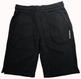 【蟹老闆】Calvin Klein Ck 男短棉褲 側小LOGO 黑色