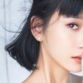 杏葉耳釘女時尚氣質個性耳環