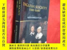 二手書博民逛書店English罕見Society, 1580-1680 (大32