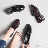 布洛克鞋ins小皮鞋女原宿學生韓版百搭ulzzang平底復古英倫風女鞋   艾維朵