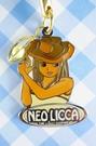 【震撼精品百貨】NEO LICCA麗卡~鑰匙圈吊飾-牛仔
