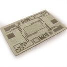 范登伯格 綠洲★大地系圈毛踏墊(內附止滑網)-秋葉60x90cm