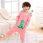 冬季兒童造型衣連體睡衣男孩女童防踢服6-7歲連體衣 DJ1262『易購3c館』