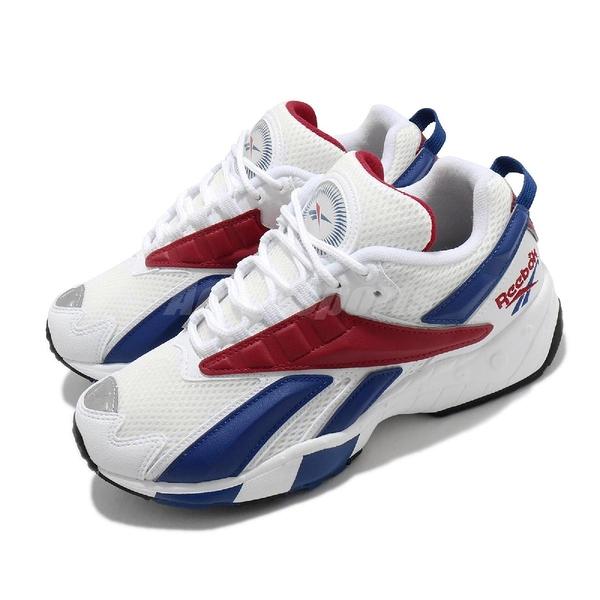 Reebok 休閒鞋 INTV 96 白 藍 紅 男鞋 女鞋 復古慢跑鞋 老爹鞋 【ACS】 FX2149