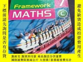 二手書博民逛書店framework罕見maths 7 CY12880 frame