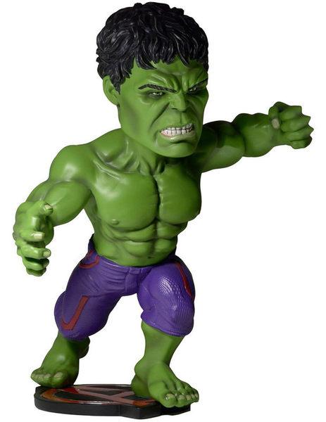 Poco+玩具部 全新 NECA MARVEL 復仇者聯盟 搖頭公仔 Hulk 綠巨人浩克