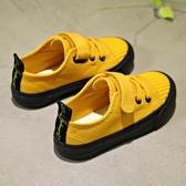 ins超火兒童帆布鞋春季新款百搭韓版女童布鞋板鞋男童休閒鞋-ifashion