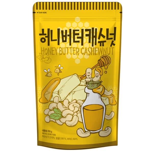 韓國 Toms Gilim 蜂蜜奶油腰果  進口零食(210g)  腰果 杏仁果 堅果【庫奇小舖】
