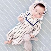 嬰兒連體衣 女嬰兒連體衣服夏季寶寶夏裝 ZB1927『時尚玩家』
