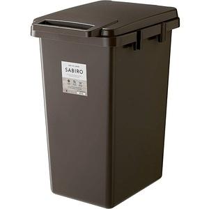 【日本RISU】SABIRO系列連結式環保垃圾桶 70L-棕色