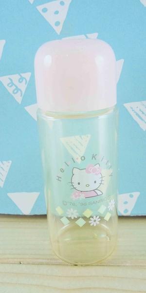 【震撼精品百貨】Hello Kitty 凱蒂貓~KITT空瓶-花圖案-粉色