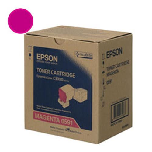 [奇奇文具] 【EPSON】 S050591 洋紅色原廠碳粉匣 C3900/CX37