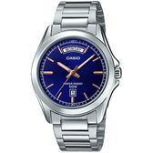 CASIO MTP-1370D-2A 簡潔質感時尚腕錶 MTP-1370D-2AVDF 熱賣中!