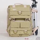 攝影背包國家地理NG5160雙肩攝影包男女休閒單反包數碼背包防水帆布相機包 數碼人生igo