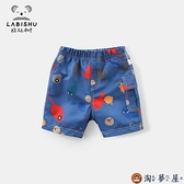 男童短褲兒童童裝寶寶休閒褲子外穿潮薄款【淘夢屋】