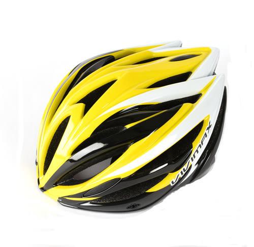 *阿亮單車* VIVIMAX 自行車一體式專業款安全帽(X6N),黃色《C77-814-Y》