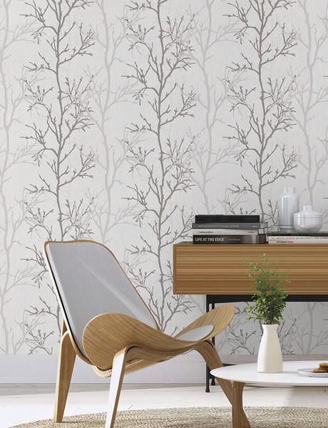 樹木紋 北歐風格壁紙  rasch(德國壁紙) 2020 /447941