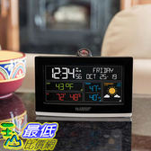 [8美國直購] 天氣觀測 溫度濕度計 La Crosse Projection Alarm Clock with Weather Information A1248087