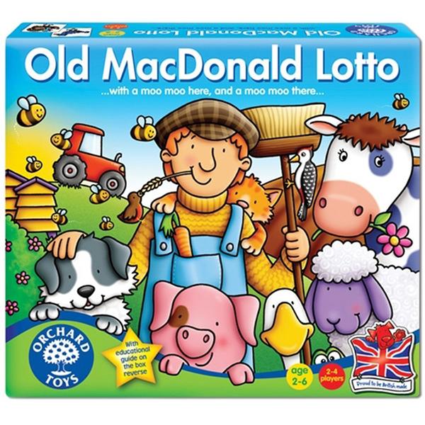 【英國 Orchard Toys】兒童桌遊-認知遊戲 咿呀咿呀呦 OT-071