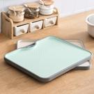 家用菜板廚房案板切菜板和面板蒸板切水果墊砧板按板粘板塑料小號  ATF  極有家