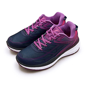 LIKA夢 GOODYEAR 固特異專業動能緩震慢跑鞋 K1-ENERGY能量系列 藍紫 82207 女