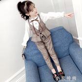 童裝女童裝英倫時尚套裝兒童女孩洋氣時髦潮衣大朋友 小艾時尚