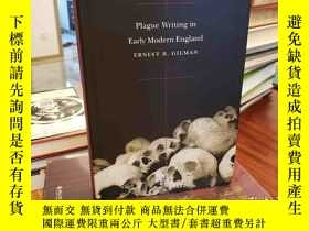 二手書博民逛書店Plague罕見Writing in Early Modern