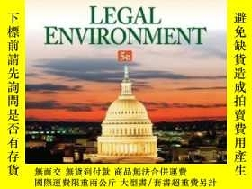 二手書博民逛書店Legal罕見Environment (mindtap Course List)Y307751 Jeffrey