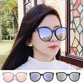 復古貓眼墨鏡 金屬雙圈簍空魔幻派對 復古太陽眼鏡 抗紫外線UV400