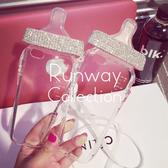 【R】韓國 Bling bling 滿鑽奶嘴 矽膠 軟殼 iphone6 plus蘋果 5s 手機殼套