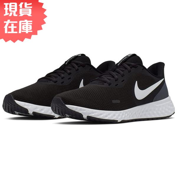 ★現貨在庫★ NIKE Revolution 5 女鞋 慢跑 訓練 輕量 網布 透氣 黑 【運動世界】 BQ3207-002