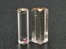 頂級淺色黃水晶(二)臍帶印章《全手工噴砂》六分,正常高度,單章。全配包裝。傳家手工印章