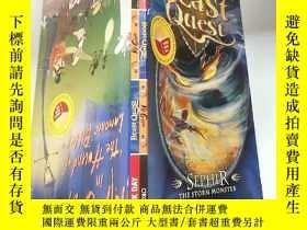 二手書博民逛書店beast罕見quest the storm monster :野獸探索風暴.怪 物 Y200392