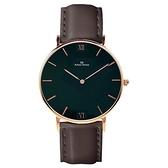 【南紡購物中心】【Max Max】簡約時尚品味皮帶腕錶-黑/40mm(MAS7025-1)