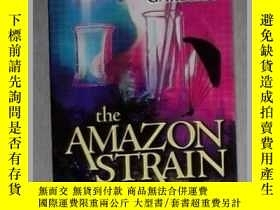 二手書博民逛書店英文原版罕見The Amazon Strain by Kathe