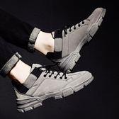 靴子男鞋冬季男士馬丁鞋雪地靴工裝靴男短靴英倫高筒鞋男馬丁靴男